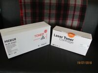 Printer Toner Cartridges x2 Samsung, Dell, Xerox.