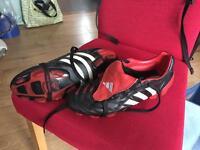Adidas Predator Pulse football boots. Size 8