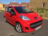 2011 Peugeot 107 Urban 1.0 Exceptional fuel economy £20 year tax 12 Month Mot Only 49K Miles