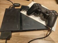 Playstation 2 (PS2) Slim w/ Controller and 18 Games