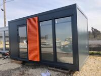 Office container/residential container/pavilion/tiny home 5 x 2,5 m