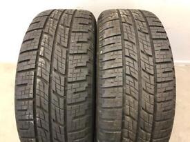 x2 Pirelli Scorpion Zero 255/50 R20 109Y Tyres