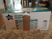 Time Tippee Simplee Sangenic refills