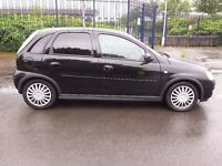 2004 Vauxhall Corsa Design 1.2 part exchange to clear long MOT starts first time and runs well