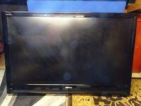 "Toshiba REGZA 42"" TV. For spares or repair"