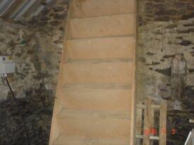 stair case 10ft ideal for self build loft conversion etc.