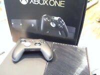 XBOX ONE ELITE 1TB, BOXED WITH LEADS & CONTROLLER