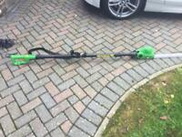 Hedge pole cutter