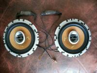 "6"" Pioneer carozzeria speakers"