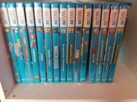 Huge selection off Wii u games