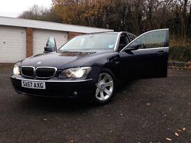 BMW 730LD 57 Plate