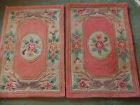 Pair of chinese rugs for sale