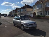 2000 Nissan Micra S 3 door saloon with sun roof - An excellent starter car for a new driver!