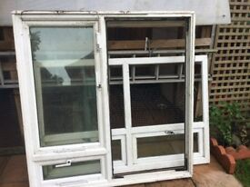 PVC windows x two
