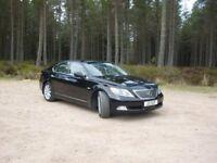 Lexus LS 460 SE Luxury car.