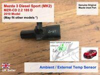 Mazda 3 BL R2AA 2009-2013 MZR-CD 2.2 Ambient / External Temp Sensor