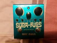 Supa-Puss Analogue Delay Pedal with Tap Tempo