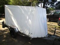 VERY RARE 8-0 X 4-0 X 4-0 (450KG) COVERED TRAILER.........
