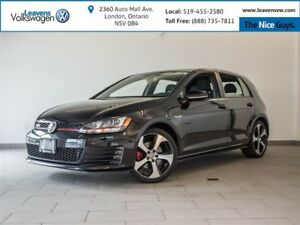 2015 Volkswagen Golf GTI Autobahn+ HEATED SEATS+PANOSUNROOF+BACK
