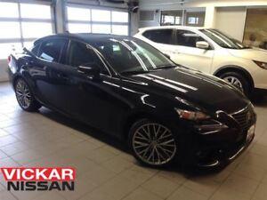 2014 Lexus IS 250 AWD/NAVI/BLACK ON BLACK!!!