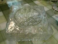 """Glass """"vase""""/bowl"""
