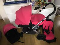 Ikle bubba pink Pram pushchair