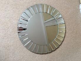 Laura Ashley Small Round Capri Mirror