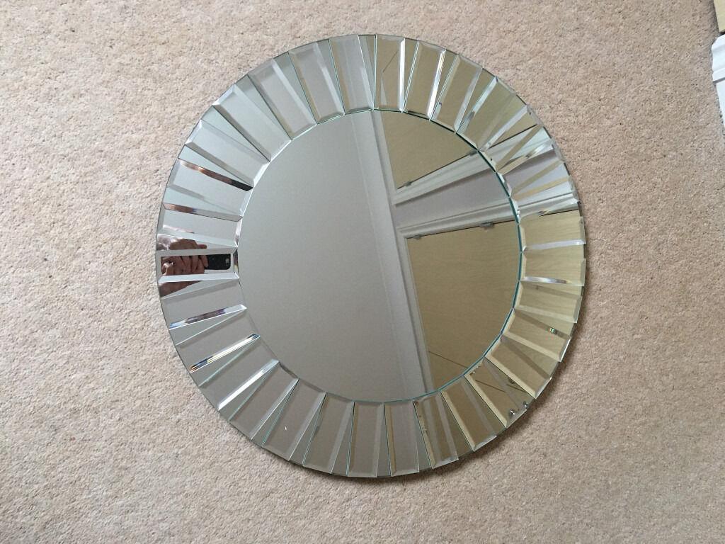 Laura Ashley Small Round Capri Mirror In Crowborough