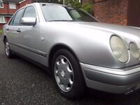 MERCEDES E280 V6 ELEGANCE 12 MONTHS MOT LEATHER ALLOYS RECENT £300 FUEL PUMP LOVELY CAR ONLY 995 ONO