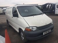 Toyota Hiace - Spare Parts Available