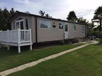 New Caravan for hire at Hafan y Mor North Wales DBG, CH throughout.