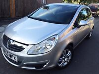 2010 VAUXHALL CORSA SXI 3DR 1.4 16V SILVER ONLY 30K MILES LONG MOT MINT COND DRIVES PERFECT. BARGAIN