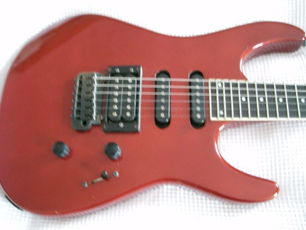 Liberator Bedroom Furniture Guild Liberator Electric Guitar Usa 80s Candy Apple Red
