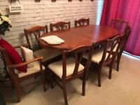 Dining Table and Chairs - fantastic condition