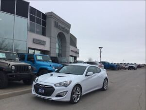 2016 Hyundai Genesis Coupe 3.8L Bluetooth, Sirius, Alloys, Clean