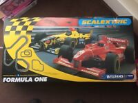 Large Scalextric F1 Set. Or nearest offer.