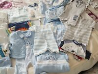 Bundle of baby boys clothes Newborn &