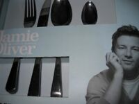 Brand new Jamie Oliver 16 piece cutlery set quality unused still in sealed box