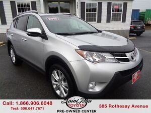 2013 Toyota RAV4 Limited with Leater and Sunroof $206.42 BI WEEK