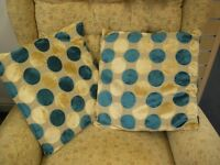 PAIR OF MATCHING CUSHIONS