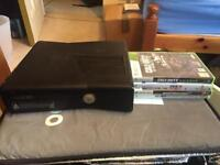 Xbox 360 4GB Bundle wireless controller + 4 games