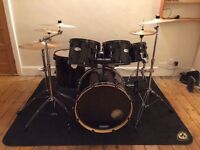 6 Piece Mapex V Series Drum Kit with Zildjian Cymbals, Stands & Bags