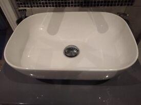 Stylish ceramic washbasin