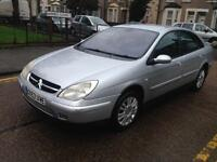 Citroen c5 2.0 diesel 2004 year mot and tax