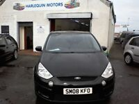 Reg. 14/05/08 FORD S-MAX LX TDCI 1.8L-ONE OWNER-7 SEATER-FSH-YEAR MOT-FULL SERVICE-WARRANTY