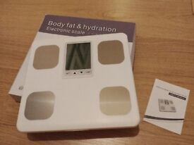 Body fat & hydration electronic scale