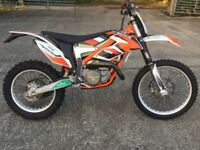 KTM FREERIDE 250R lots of extras only 39hrs