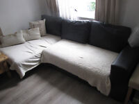 FREE LEFT CORNER SOFA BED