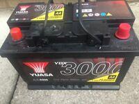 Brand New Yuasa 3000 12v car battery