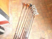 high quality uk golf clubs aset and extra by henry cotton plus exta clubs